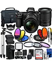 """$2596 » Nikon Z6II Mirrorless Camera Body with NIKKOR Z 24-70mm f/4 S Lens Essential Accessory Bundle - Includes: SanDisk Ultra 64GB SDXC, 50"""" Tripod, Seller Supplied Replacement Battery, Carry Case & More"""
