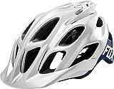 Fox Head Adult Flux MTB Racing Bike Helmet (Creo White/Navy, S/M) Review