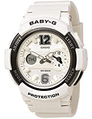 G-Shock Womens BGA-210-7B1CR White Watch