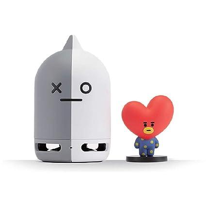 e5b080d8a6d Amazon.com: BT21 Official BTS Friends Duo Bluetooth Stereo Portable Speaker  & Figure Set for Home, Outdoors, Travel (Speaker Van + Figure TATA): Home  Audio ...