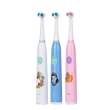 SUNHAO Cepillo de dientes eléctrico recargable Música cepillo de dientes eléctrico de cepillo de dientes cepillo