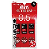 Stein core 0.5mm B 3 Pack The replacement Pentel Ain Sharp