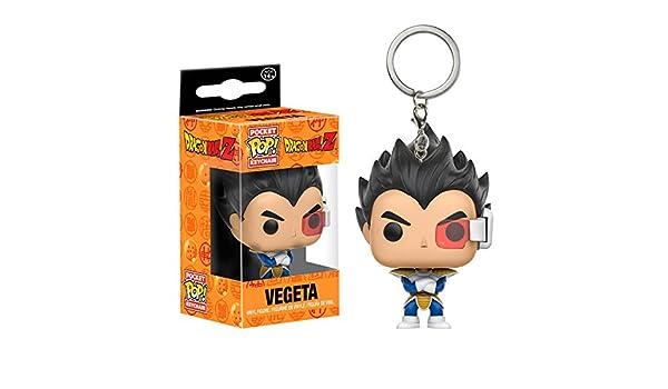 FUNKO Llavero Pocket POP! Dragonball Z Vegeta: Amazon.es ...