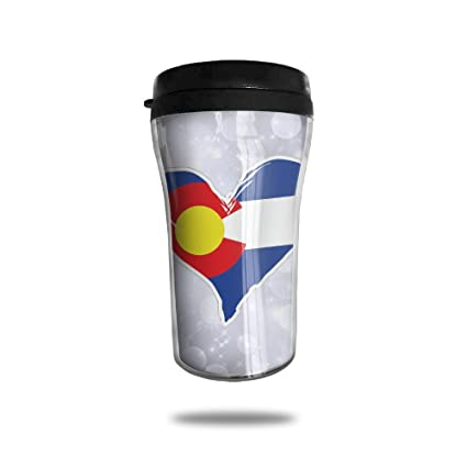 amazon com colorado heart coffee cup personalized travel mug