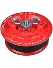 Oatey 33403 Mechanical Test Plug, 4 in, 5 Psi Back, Plastic, 110 Deg F, 4 Inch, Red
