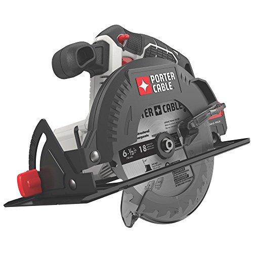 PORTER-CABLE 20V MAX 6-1 2-Inch Cordless Circular Saw, Tool Only PCC660B