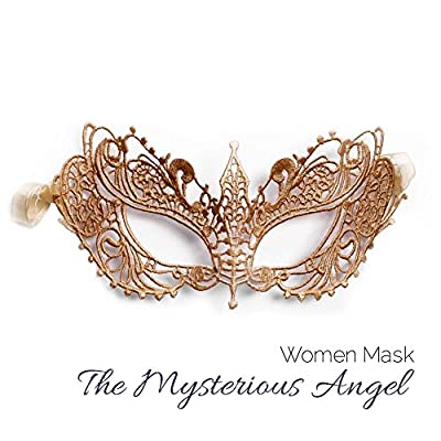 Masquerade Mask for Couples Women and Men - 3 Pack, Black, Size One Size