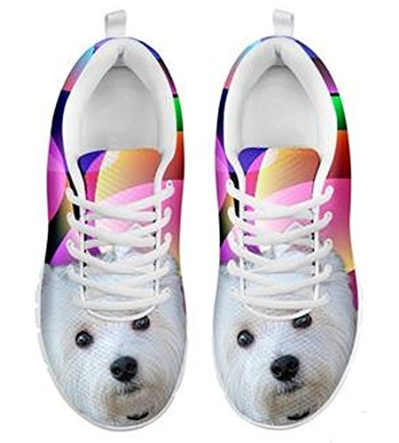 Brand Cute Westie 5 8 Print Dog Casual Men's Sneakers qCTAqPwrx
