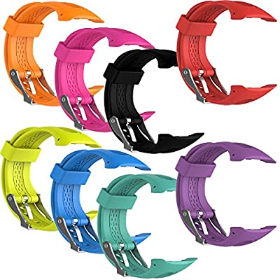 Replacement Band for Garmin Forerunner 10/15 For Women/Man - TenYun Silicone Wristband Strap/Bands for Garmin Forerunner 10/Garmin Forerunner 15