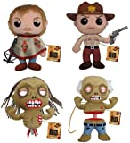 "The Walking Dead 7"" Plush Set Of 4"