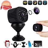 TFWell Mini Spy Camera Wireless Hidden Security Small Cameras Home WiFi with 1080P Night Vision Motion Activated Surveillance Video Nanny Cam Indoor Outdoor for Pet,Baby,Indoor and Office