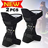 Power Knee Leg Joint Support Pads Brace Powerful Rebound Spring Force Powerlift Knee