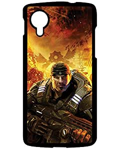 Naruto for Galaxy S5's Shop New Style Fashion Design Hard Case Cover Gears of War LG Google Nexus 5 phone Case 5186897ZJ143015619NEXUS5