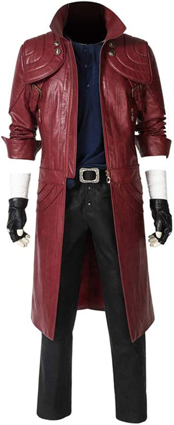 Coskey Devil May Cry 5 Dante Cosplay Costume Outfit Dmc
