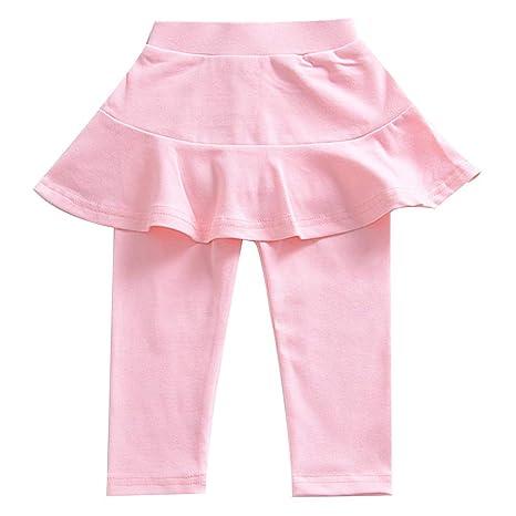 Pantalones cálidos con falda tutú Culottes para 1 - 8 años bebé ...
