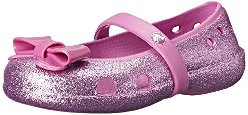 crocs Keeley Hi Glitter Blow Mary Jane (Toddler/Little Kid), Wild Orchid/Wild Orchid, 6 M US Toddler