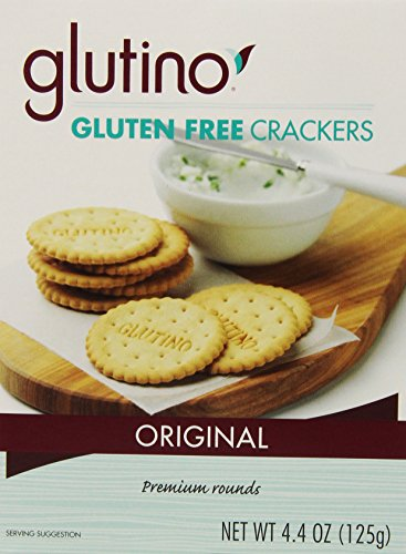 Crackers Free Gluten Glutino (Glutino Gluten Free Crackers, Original, 125 Grams (Pack of 6))