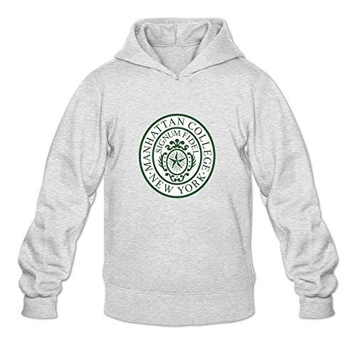 Metro Roman Tub - Manhattan College Green Seal Unique Casual Ash Long Sleeve Sweatshirt For Adult Size XXL