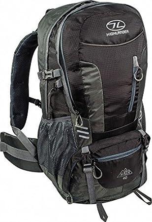 cbd774cc821 Highlander Hiker 30 Litre Rucksack Black New for 2016: Amazon.co.uk ...