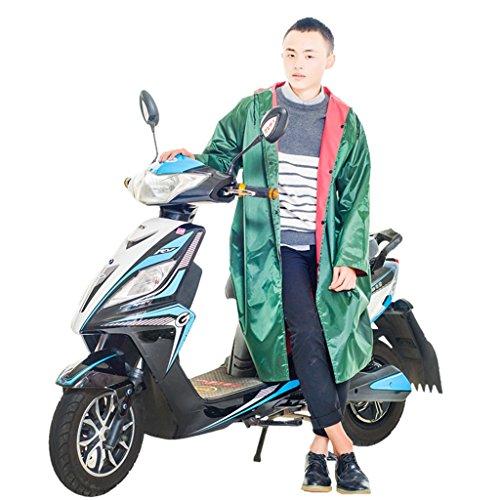 Il y a Manches Imperméable Adulte extérieur siamois Changfeng Raincoat Thickening Tissu Oxford avec manches voitures électriques de vélos Raincoat Veste imperméable