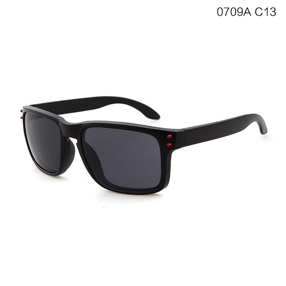 HOBULL Cycling Sunglass Bicycle Bike Riding Eyewear Sunglass Eyeglass Sport Sunglass with Rivet for Outdoor