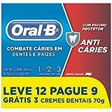 Creme Dental Oral-B 123 70g, Oral B
