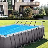 VINGLI Pool Cover Reel Above Ground Swimming Pool
