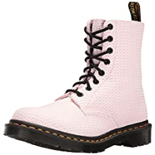 Dr.Martens Womens Page Waffle 8 Eyelet Cotton Boots