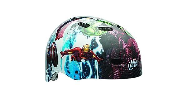 Marvel Los Vengadores superhéroes niño casco de ciclo: Amazon.es: Deportes y aire libre