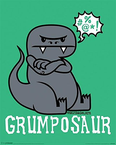 David & Goliath - Grumposaur Poster