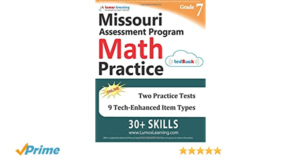 Missouri Assessment Program Test Prep: 7th Grade Math Practice ...