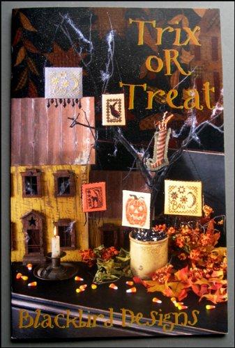 Trix or Treat Halloween Cross-stitch Designs and Patterns -