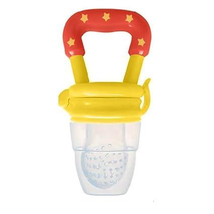 Chupete chupete para bebés, comida fresca/alimentador de frutas, alimentador de pezón, deshuesador, dentición, pezón, tetina, chupete, chupete ...