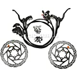 SHIMANO BR-BL-M355 Set of Front and Rear Hydraulic Brakes RT56 160mm Spindles