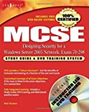 img - for MCSE Designing Security for a Windows Server 2003 Network: Exam 70-298 by Elias Khasner (2004-02-29) book / textbook / text book