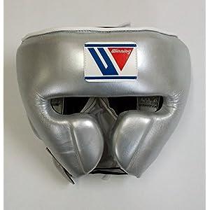 Winning-Headgear-Fg2900-Silver-Medium - Boxing914 com