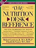 img - for The Nutrition Desk Reference by Robert H. Garrison (1995-11-30) book / textbook / text book