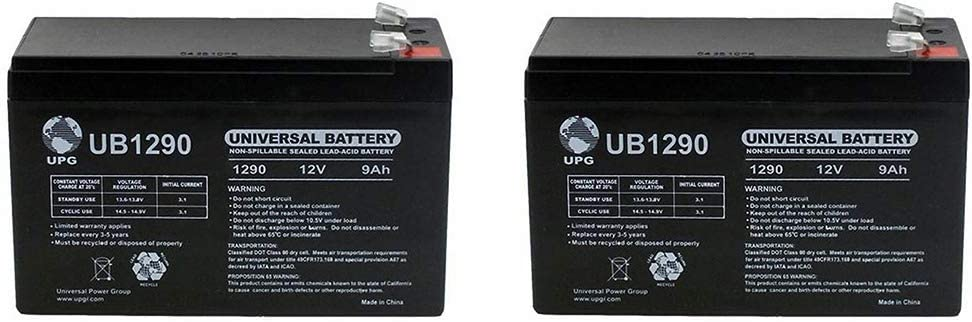 VICI Battery 12V 9Ah SLA Battery Replaces Razor Ground Force Drifter Fury Brand Product