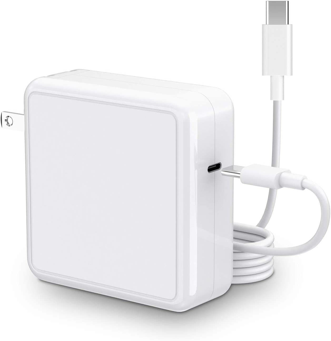 SIMPFUN Mac Book Pro Charger 96W USB C Charger Compatible with Power Adapter 96W & 87W & 61W & 30W Fast Charging for Mac Book Pro 13'' 15'' 16
