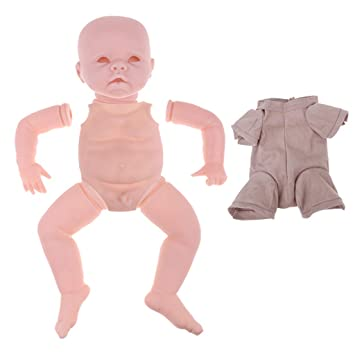 Amazon.es: F Fityle 22 Pulgadas Partes de Cuerpo de Muñecas Bebé Renacida + Kit de Cuerpo de Paño: Juguetes y juegos