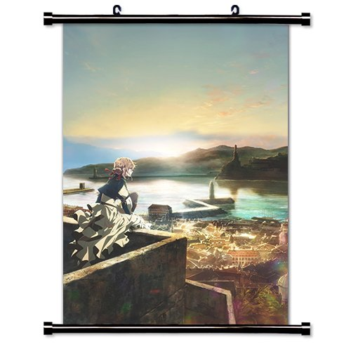 Violet Evergarden Anime Art 7 Fabric Wall Scroll Poster  Inc