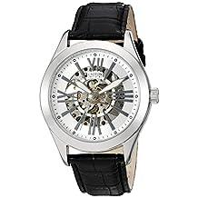 CROTON Men's CI331082SSSL Analog Display Chinese Automatic Black Watch