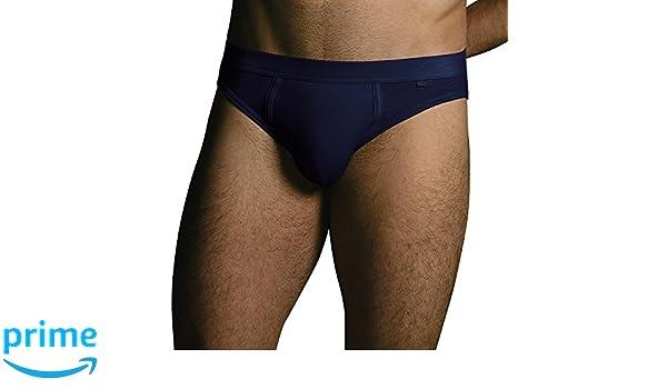 Lovable Slub, Calzoncillos de algodón, Ropa Interior para Hombre, Azul (BLU), Large: Amazon.es: Ropa y accesorios