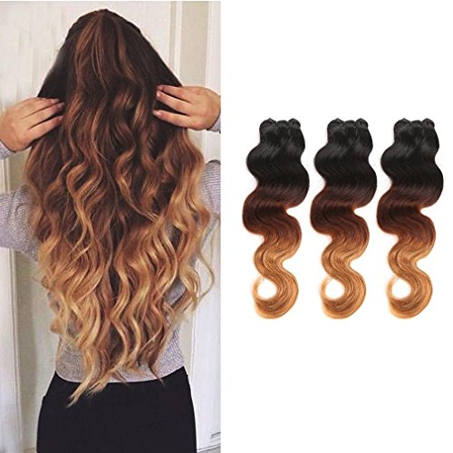 100% Virgin Brazilian Hair Extensions Grade 7A Quality 16...