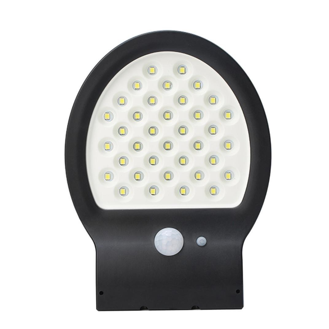 36LED Solar Power Garden Security Waterproof Wall Light,With Motion Sensor