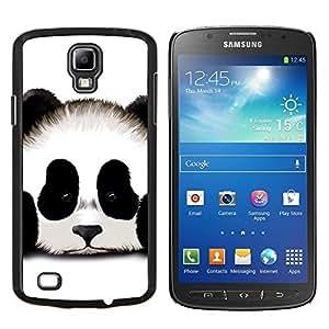 - Panda Cute Face - - Cubierta del caso de impacto con el patr??n Art Designs FOR S4 Active I9295 (Do Not Fit S4) Queen Pattern