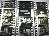 STAR TREK TOS Lot of 12 original black and white 35mm Film Cells