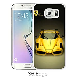 World Luxury Car White Samsung Galaxy S6 Edge Phone Case Newest and Unique and Look