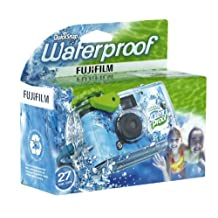 Fujifilm QuickSnap Waterproof Single Use Camera 800/27