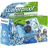 Fujifilm Quick Snap Waterproof 27 exp. 35mm Camera 800 film,Blue/Green/white,1 Pack